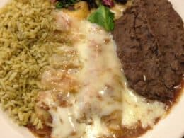 Vegetarian Restaurant Review - Traditional Enchiladas at Green Vegetarian Cuisine