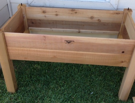 Get Your Grow On In Gronomics Raised Garden Beds Vegetarian Zen