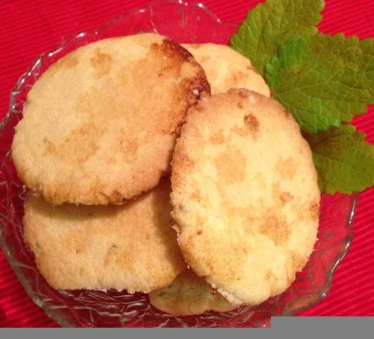 image of lemon sugar crisp cookies