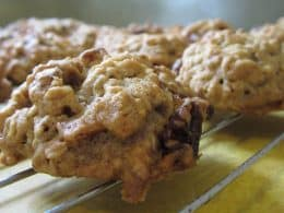cookies on a rack