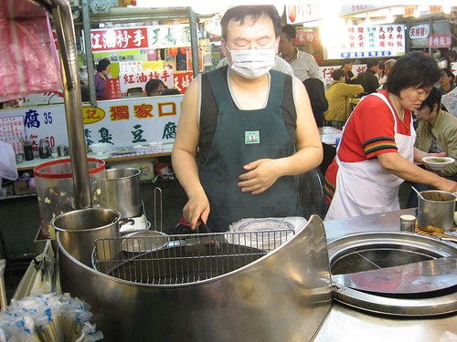 Stinky tofu vendor (photo credit: Kimberly Vardeman)