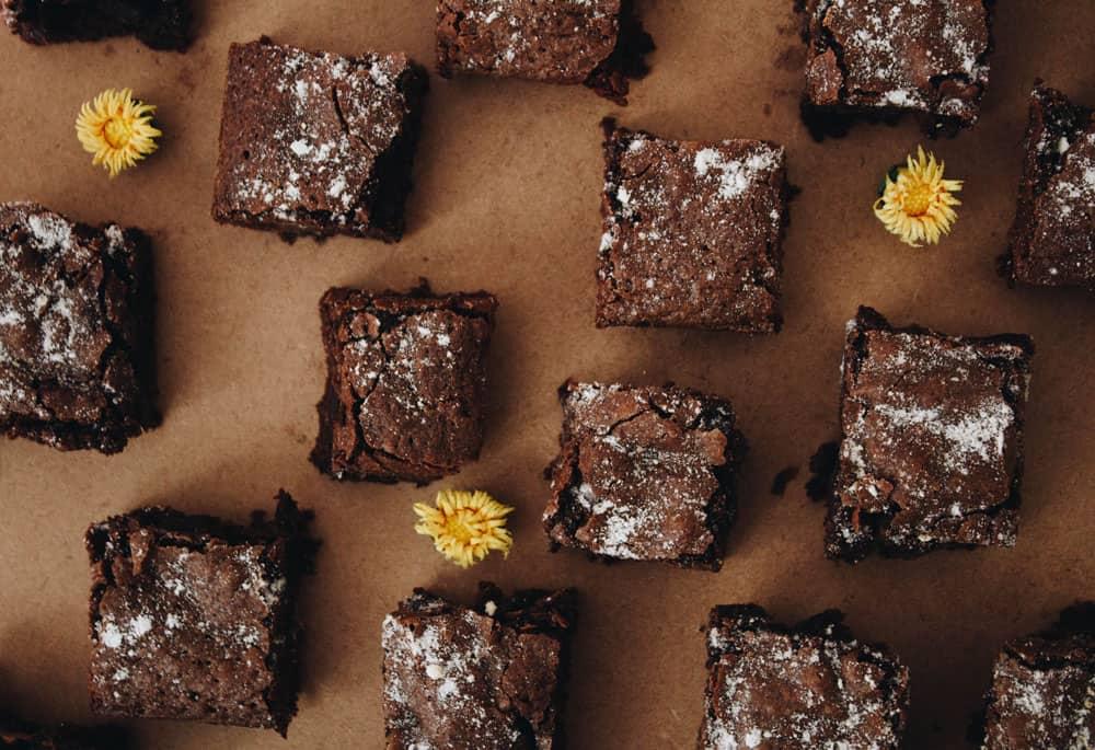sheet of brownies