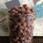 cinnamon sugar roasted chickpeas