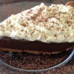 vegan chocolate icebox pie