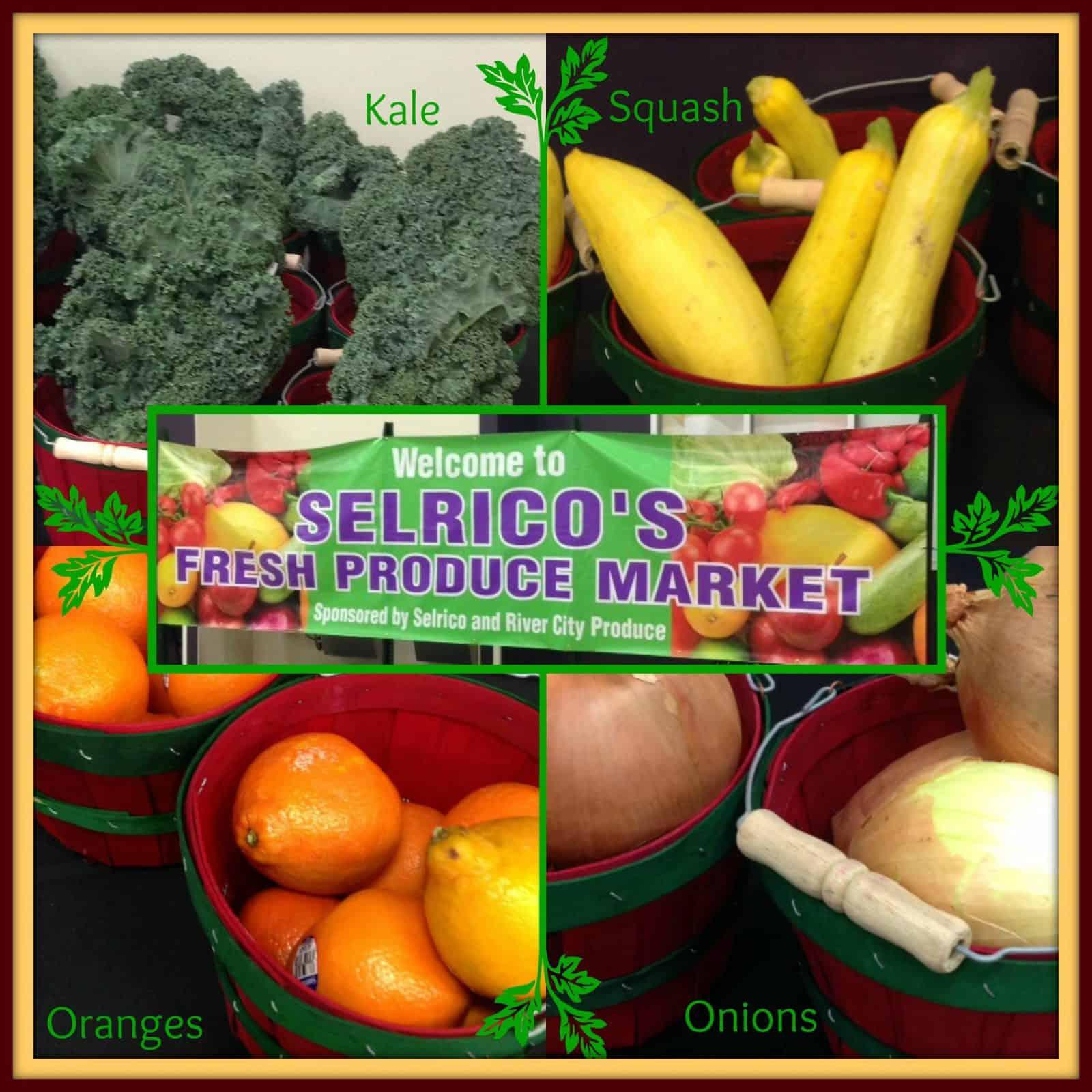 Selrico Pre-K 4 SA produce market