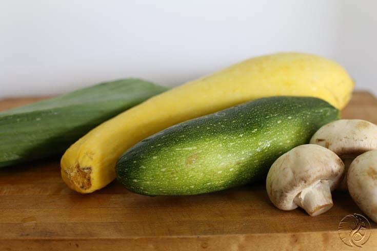 Vegetable Enchiladas - uncut vegetables http://www.vegetarianzen.com