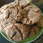 Nana's Molasses Cookies Recipe - https://www.vegetarianzen.com