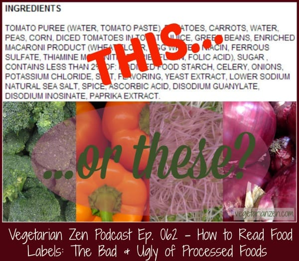 VZ062 - How to Read Food Labels