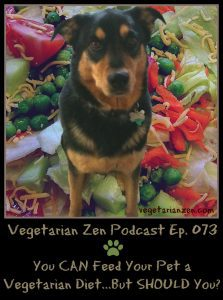 VZ073 - You can feed your pet a vegetarian diet...but should you http://www.vegetarianzen.com