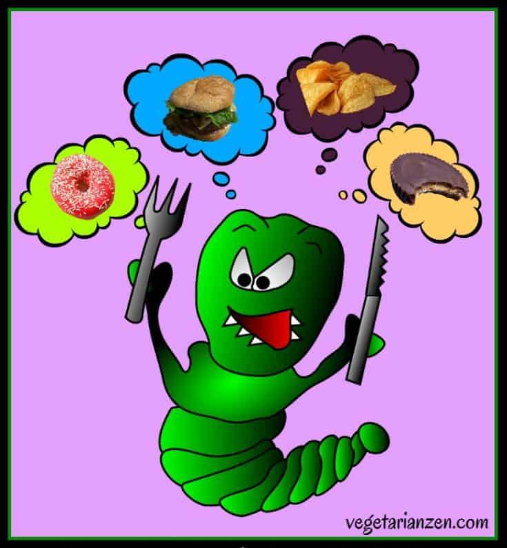 5 Easy Ways to Tame Food Cravings https://www.vegetarianzen.com