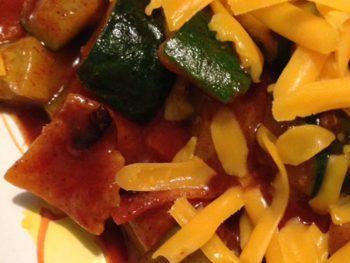 Stovetop Vegetarian Enchiladas http://www.vegetarianzen.com