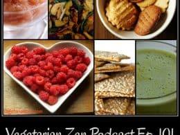 Vegetarian Zen Podcast episode 101 - Attack of the Vegan Snacks https://www.vegetarianzen.com