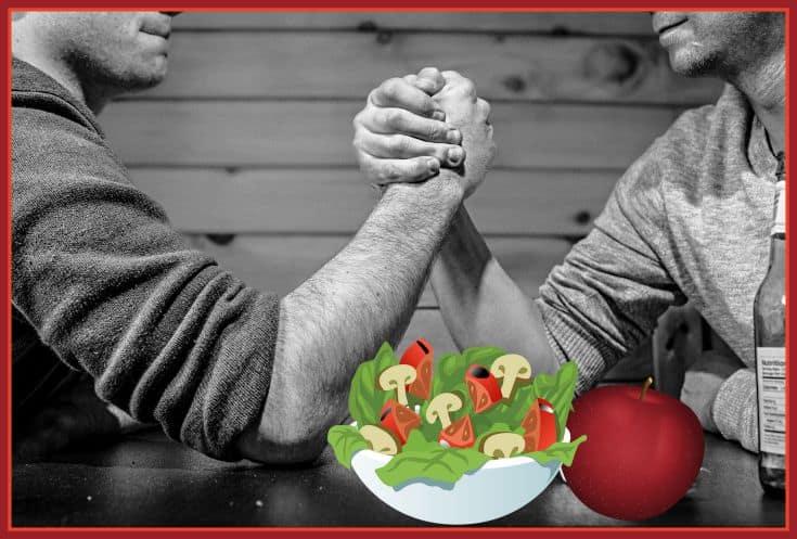 """""""manly"""" meals made vegetarian http://www.vegetarianzen.com"""