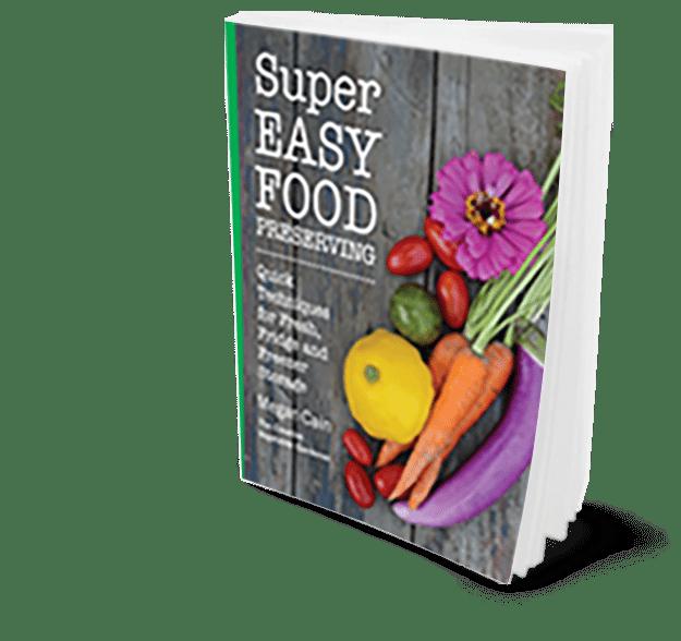 Super Easy Food Preserving https://www.vegetarianzen.com