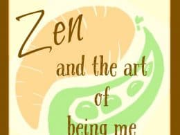 Vegetarian zen podcast episode 122 - Zen and the art of being me http://www.vegetarianzen.com