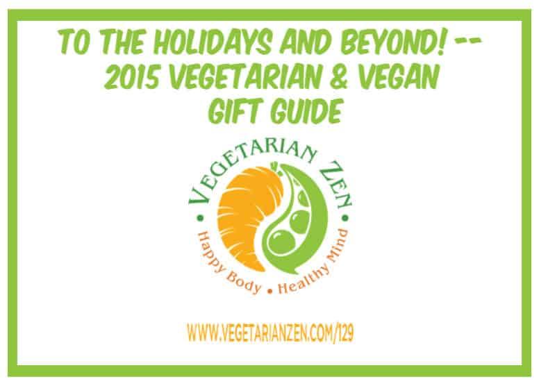 vegetarian zen 129 gift guide