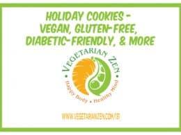 vegetarian zen episode 131 vegan holiday cookies