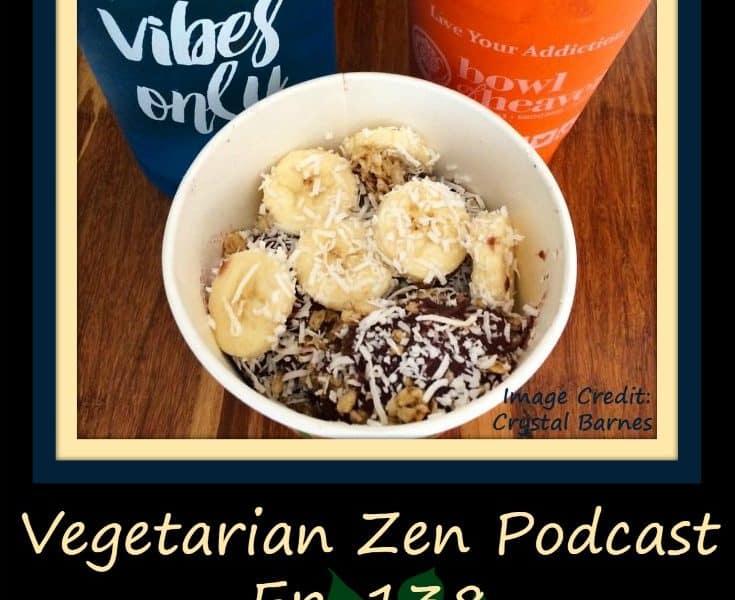 Vegetarian Zen Podcast episode 138 - Plant-based breakfast options https://www.vegetarianzen.com