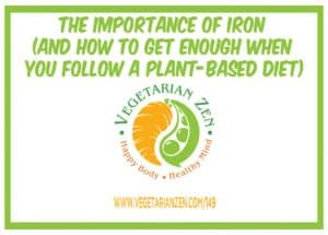 getting enough iron on a plant-based diet