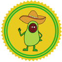Awesome Avocado Patreon badge http://www.vegetarianzen.com