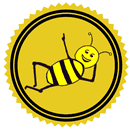 Bee's Knees Patreon badge http://www.vegetarianzen.com