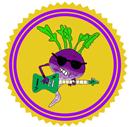 Rutabaga Rockstar Patreon badge http://www.vegetarianzen.com