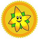 Super Starfruit Patreon badge http://www.vegetarianzen.com