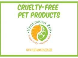 vegetarian zen podcast episode 260 - cruelty-free pet products