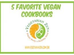vegetarian zen podcast episode 268 - 5 favorite vegan cookbooks