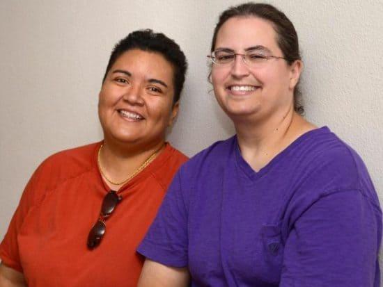 Vickie and Larissa of Vegetarian Zen