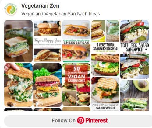 vegan and vegetarian sandwich ideas on pinterest