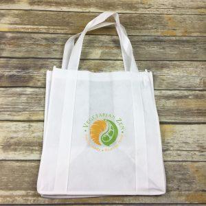 Vegetarian Zen grocery bag