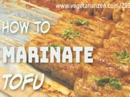 tofu marinade ideas