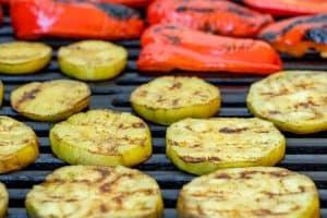 grilled squash