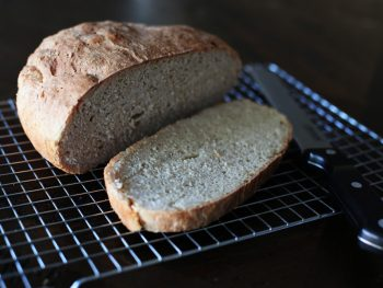loaf of homemade bread