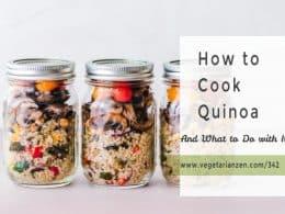 jars of quinoa