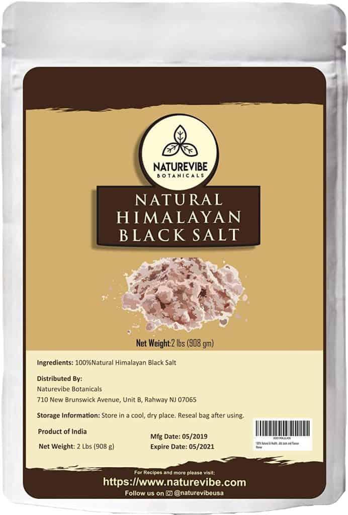 Naturevibe Botanicals 100% Natural & Healthy Himalayan Black Salt