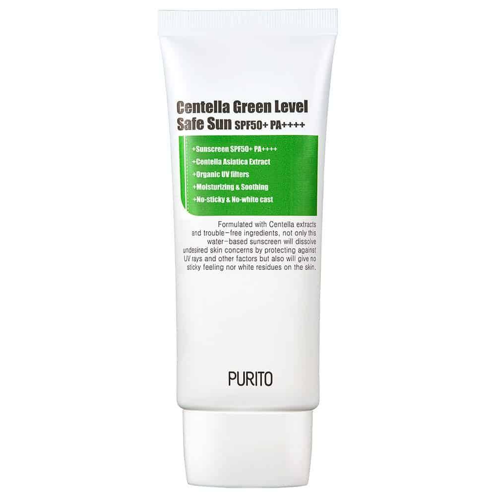 PURITO Centella Green Level Safe Sun SPF50+ Sunscreen