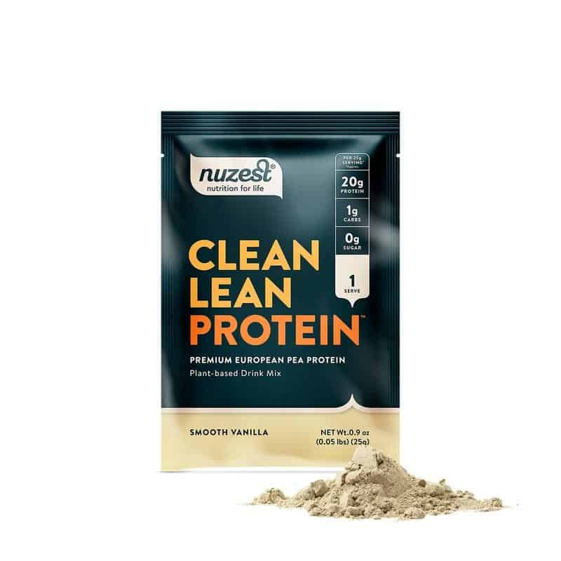Try A Sample Of Nuzest Smooth Vanilla Clean Lean Protein