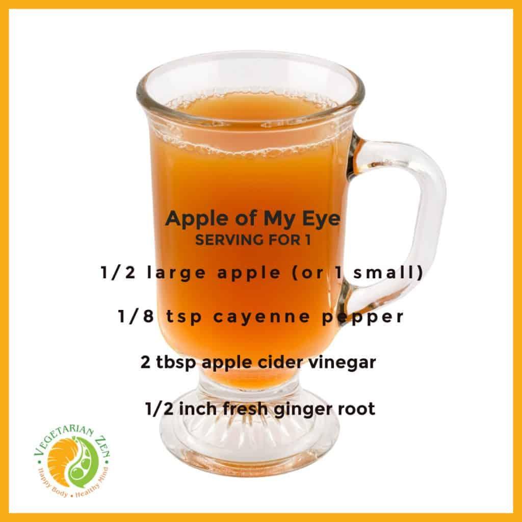 apple of my eye wellness drink