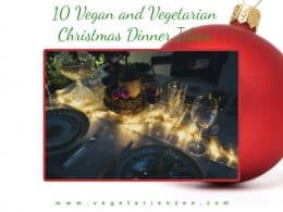 vegan and vegetarian christmas dinner