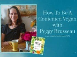 vegetarian zen podcast 378 peggy brusseau