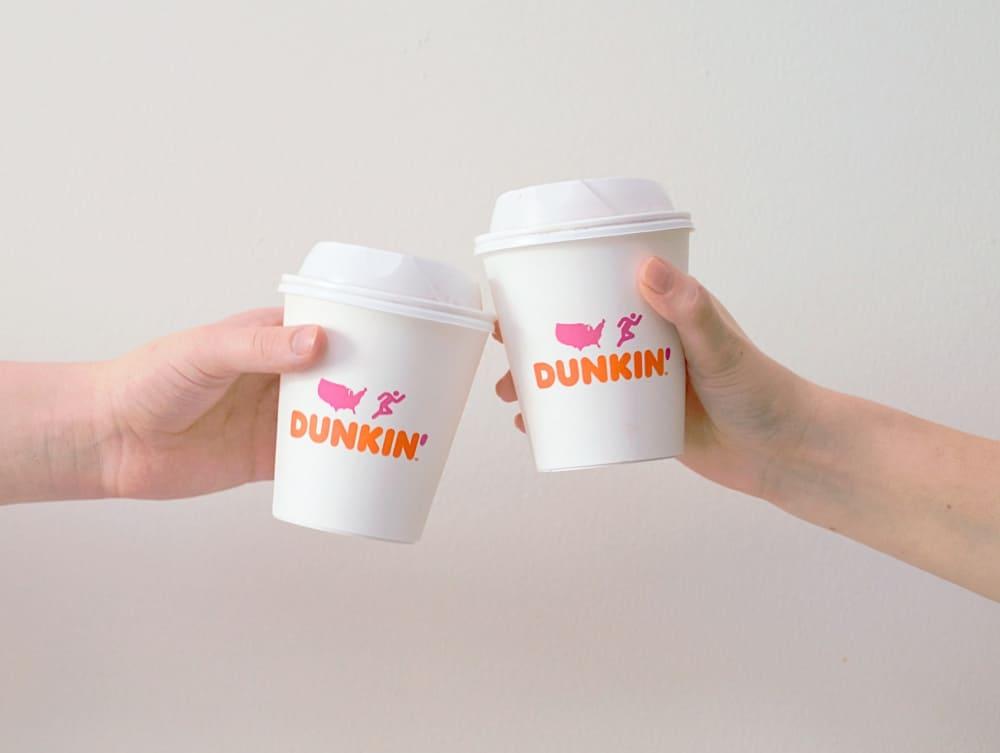 vegan dunkin donuts coffee