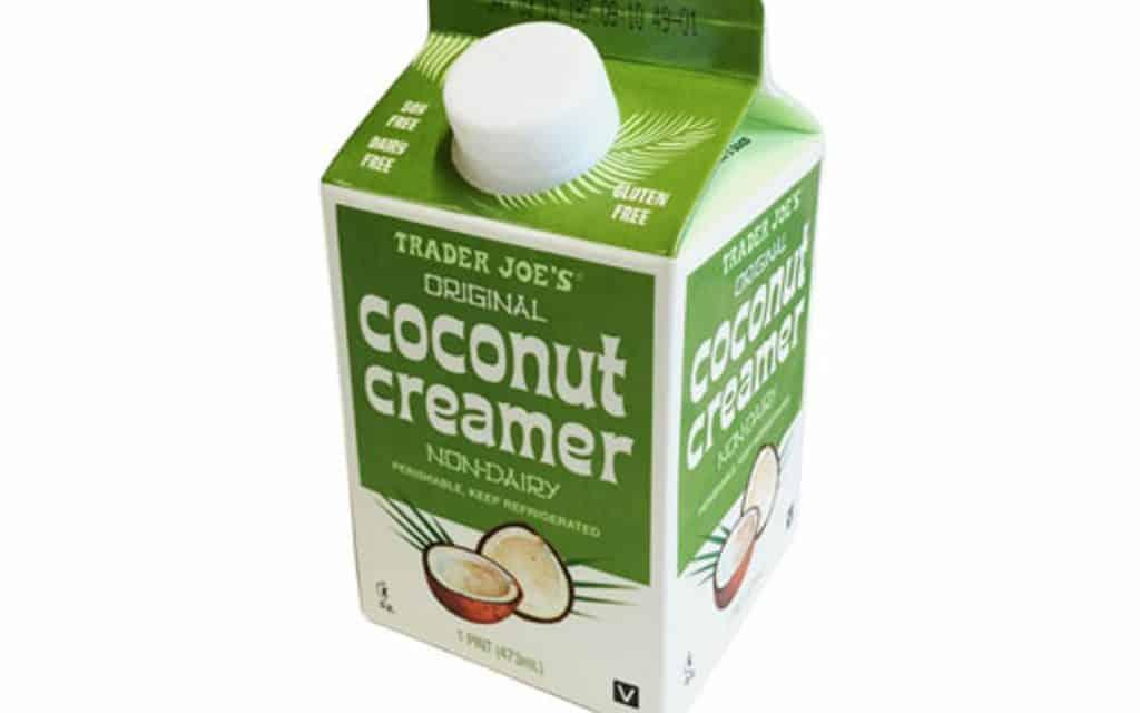 trader joe's coconut creamer is a vegan creamer