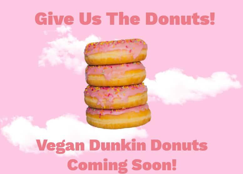 vegan dunkin donuts