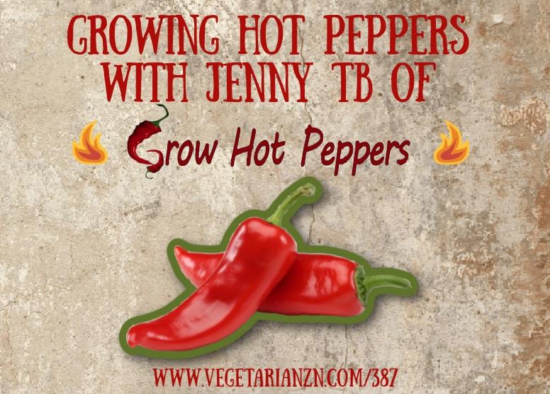 vegetarian zen episode 387 hot peppers
