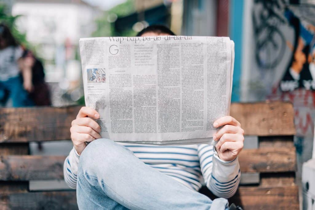 man reading this week in plant-based news (june 2021 edition)
