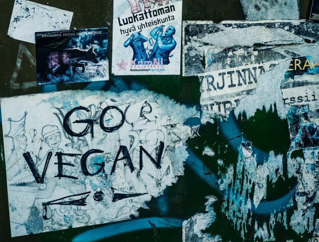 go vegan posters