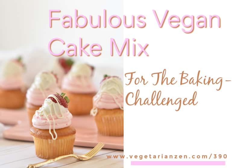 vegetarian zen 390 vegan cake mix cupcakes
